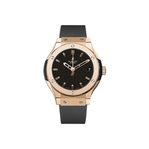 HUBLOT CLASSIC FUSION KING 33MM 18KT GOLD LADIES WATCH