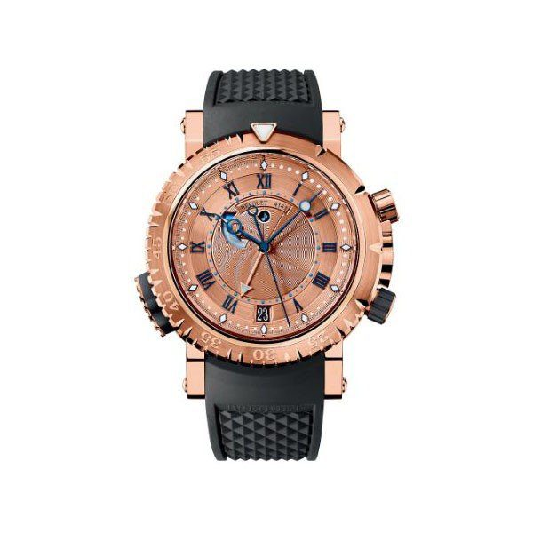 BREGUET MARINE 5847 45MM 18KT ROSE GOLD MEN'S WATCH