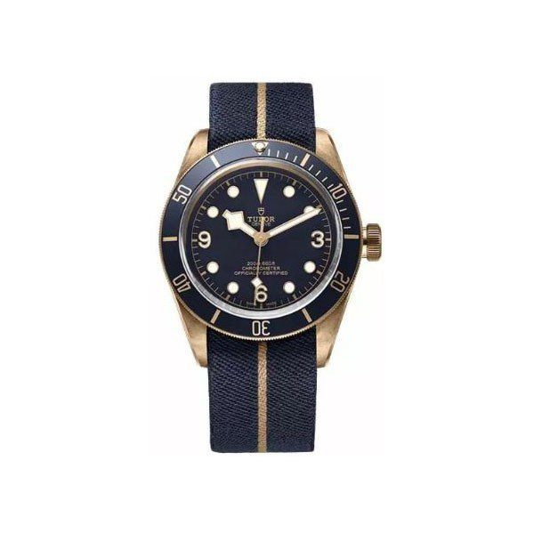 TUDOR HERITAGE BLACK BAY 43MM STAINLESS STEEL MEN'S WATCH