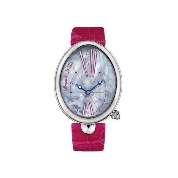 BREGUET REINE DE NAPLES 35MM STAINLESS STEEL LADIES WATCH