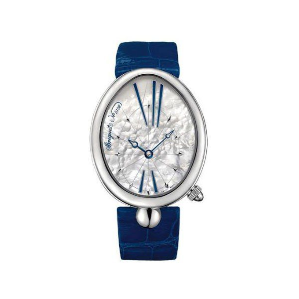 BREGUET REINE DE NAPLES 35.5MM X 43.75MM STAINLESS STEEL LADIES WATCH