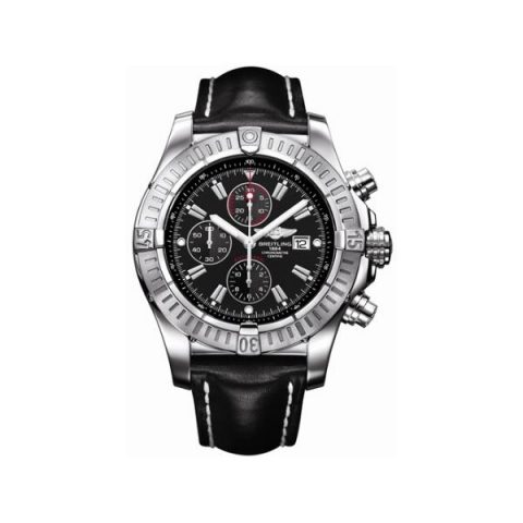 BREITLING SUPER AVENGER 48MM STAINLESS STEEL MEN'S WATCH