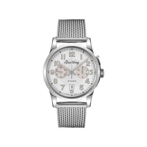 BREITLING TRANSOCEAN CHRONOGRAPH 1915 LIMITED EDITION 43MM STAINLESS STEEL MEN'S WATCH
