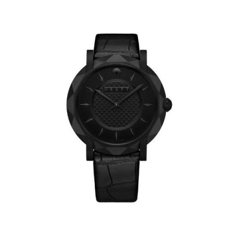 GRAFFSTAR SLIM ECLIPSE BLACK DLC 43MM TITANIUM MEN'S WATCH