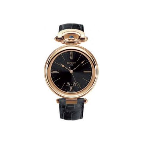 BOVET CHATEAU DE MOTIERS 42MM 18KT ROSE GOLD MEN'S WATCH