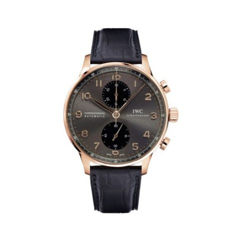 IWC PORTUGUESE CHRONOGRAPH 40.9MM 18KT ROSE GOLD MEN'S WATCH