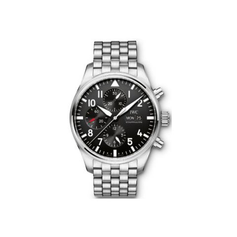 IWC PILOT CHRONOGRAPH SPECIAL EDITION 43MM STAINLESS STEEL MEN'S WATCH