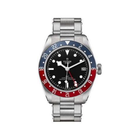 TUDOR HERITAGE BLACK BAY GMT 41MM STAINLESS STEEL MEN'S WATCH