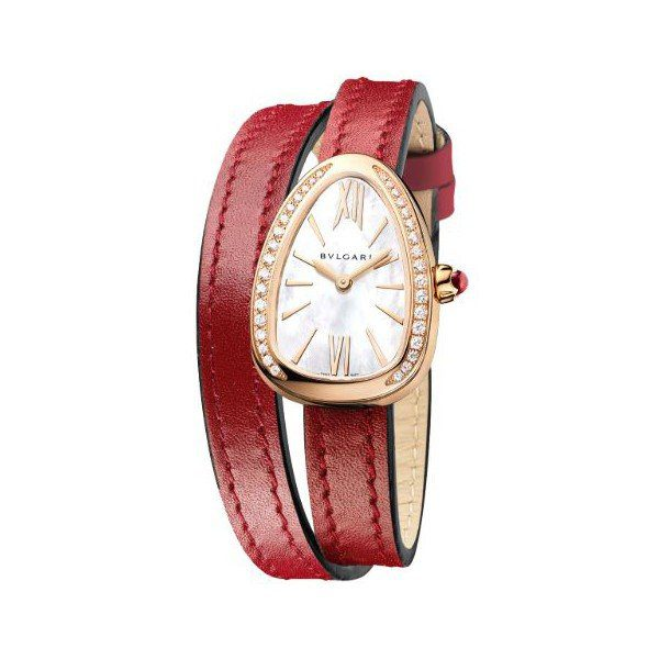 BVLGARI SERPENTI 27MM 18KT ROSE GOLD LADIES WATCH