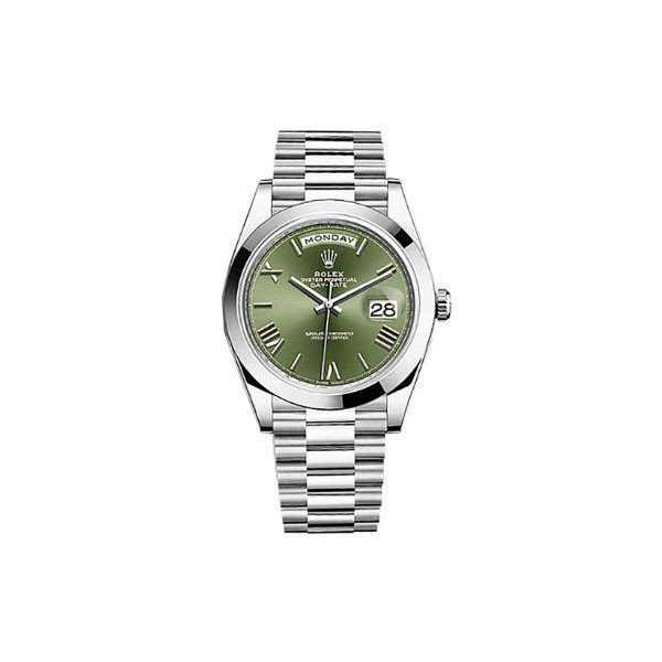 ROLEX DAY-DATE 40MM PLATINUM MEN'S WATCH