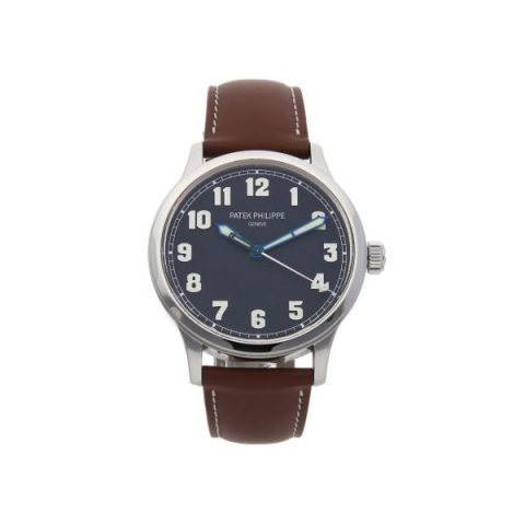 PATEK PHILIPPE CALATRAVA PILOT'S NEW YORK LIMITED EDITION 42MM STAINLESS STEEL MEN'S WATCH