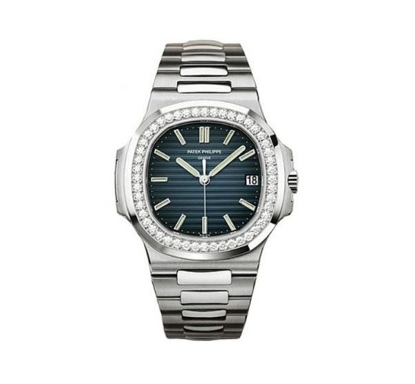 PATEK PHILIPPE NAUTILUS 5713/1G-001 WHITE GOLD MEN'S WATCH