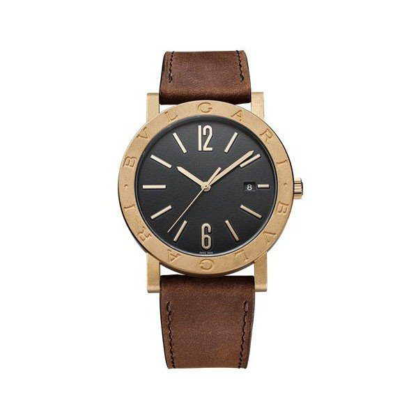 BVLGARI SOLOTEMPO 41MM BRONZE MEN'S WATCH