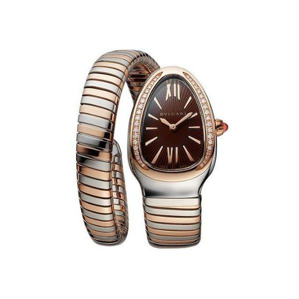 BVLGARI SERPENTI TUBOGAS 35MM 18KT ROSE GOLD LADIES WATCH