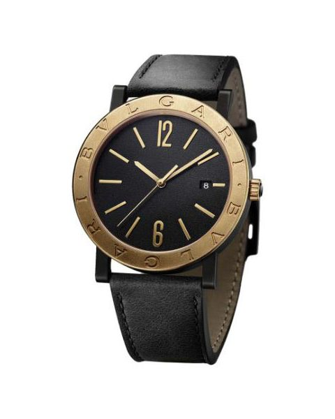 BVLGARI SOLOTEMPO 41MM DLC COATED STAINLESS STEEL MEN'S WATCH