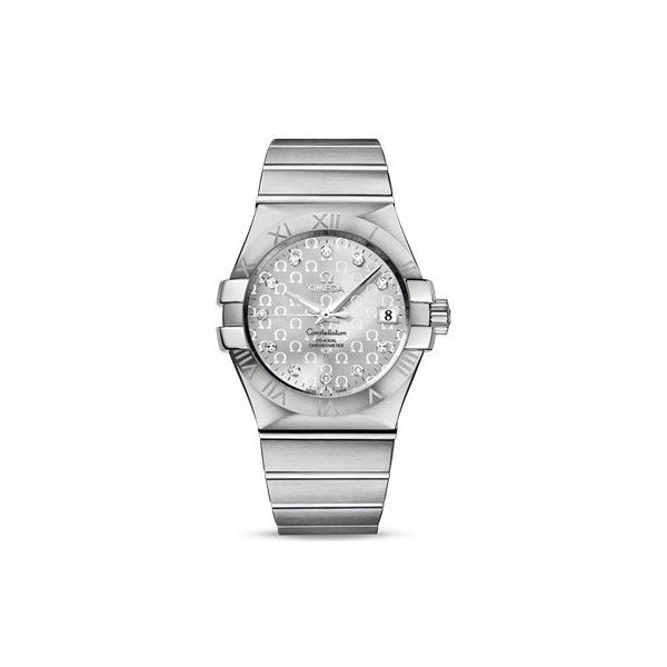 OMEGA CONSTELLATION 35MM STAINLESS STEEL LADIES WATCH
