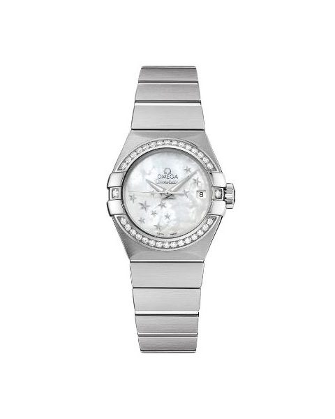 OMEGA CONSTELLATION CO-AXIAL 27MM STAINLESS STEEL LADIES WATCH REF. 123.15.27.20.05.001