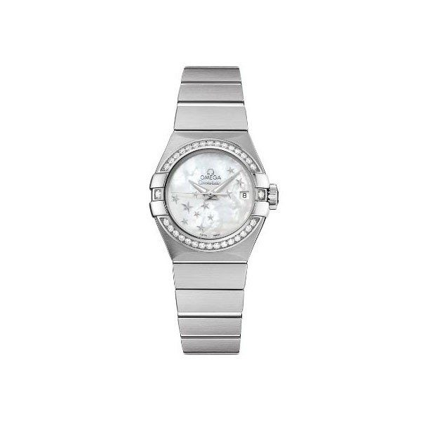 OMEGA CONSTELLATION CO-AXIAL 27MM STAINLESS STEEL LADIES WATCH