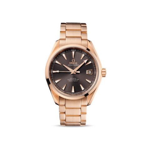 OMEGA SEAMASTER AQUA TERRA CO AXIAL 41.5MM 18KT ROSE GOLD MEN'S WATCH