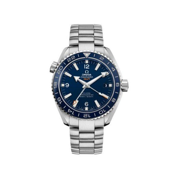 OMEGA PLANET OCEAN GMT 43.5MM TITANIUM MEN'S WATCH