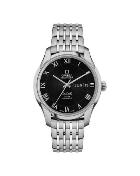 Omega Pre-Owned De Ville Co-axial Chronometer Annual Calendar 41mm Stainless Steel Men's Watch