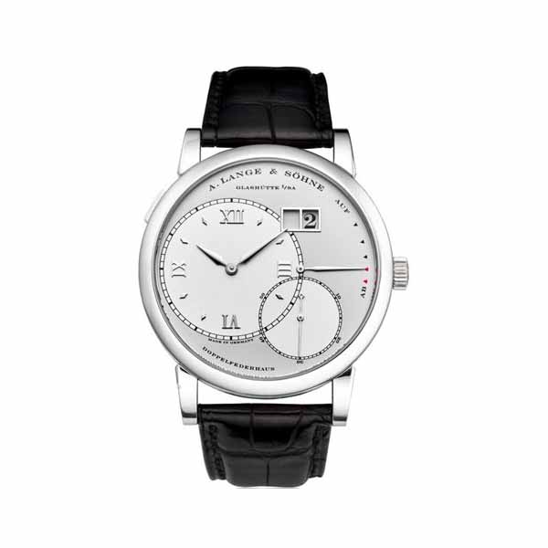 A. LANGE & SOHNE GRAND LANGE 1 42MM PLATINUM MEN'S WATCH