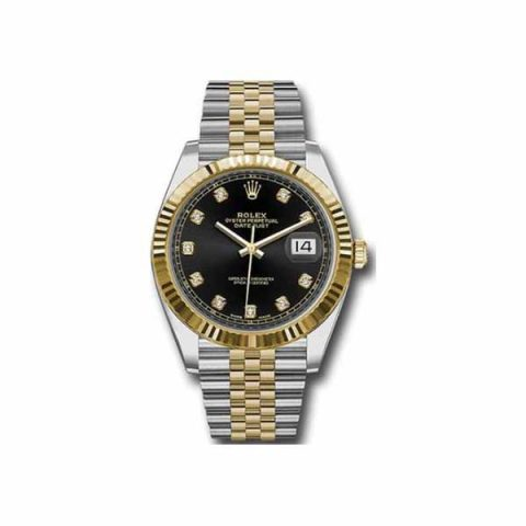 Rolex Pre-owned Datejust 41mm 18kt Yellow Gold & Stainless Steel Men's Watch