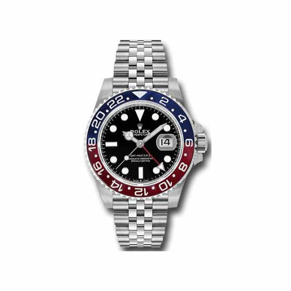 Rolex Pre-owned GMT II Pepsi 40mm Stainless Steel Oyster Men's Watch