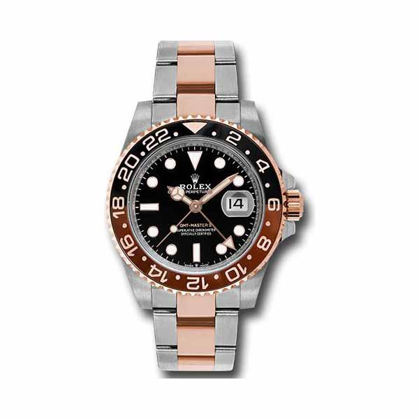 Professional Rolex Pre-owned Gmt Master Ii 40mm 18kt Rose Gold Men's Watch