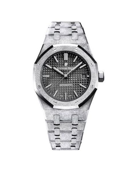 Audemars Piguet Pre-owned Royal Oak Frosted Gold 37mm Ladies Watch