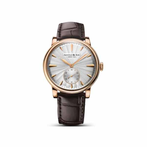 ARNOLD & SON HMS1 40MM 18KT ROSE GOLD MEN'S WATCH