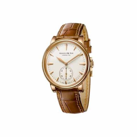 ARNOLD & SON LIMITED EDITION OF 100 PCS 34MM 18KT ROSE GOLD MEN'S WATCH