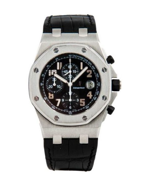 AUDEMARS PIGUET ROYAL OAK OFFSHORE JAY-Z 10TH ANNIVERSARY LIMITED EDITION STAINLESS STEEL 42MM MEN'S WATCH