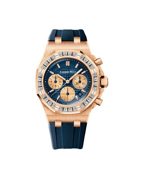 Audemars Piguet Pre-owned Royal Oak Offshore Chronograph Limited Edition Pink Gold Ladies Watch