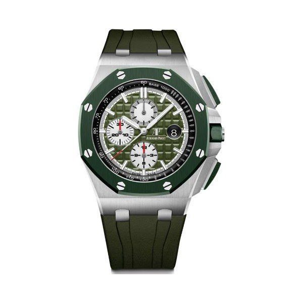 AUDEMARS PIGUET ROYAL OAK OFFSHORE CHRONOGRAPH 44MM STAINLESS STEEL MEN'S WATCH