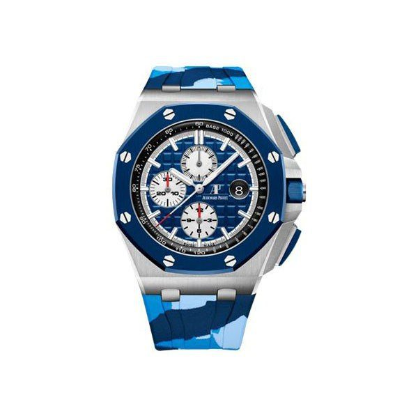 AUDEMARS PIGUET ROYAL OAK OFFSHORE CHRONOGRAPH 44MM STAINLESS STEEL LIMITED EDITION OF 400 PCS MEN'S WATCH