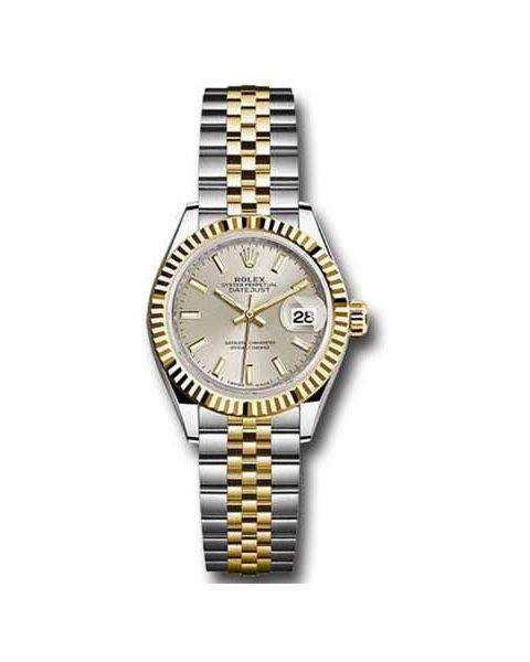 ROLEX Pre-Owned Oyster Perpetual DateJust 28mm Ladies Watch
