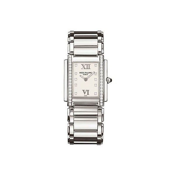 PATEK PHILIPPE TWENTY~4 4910/10A-011 STAINLESS STEEL LADIES WATCH