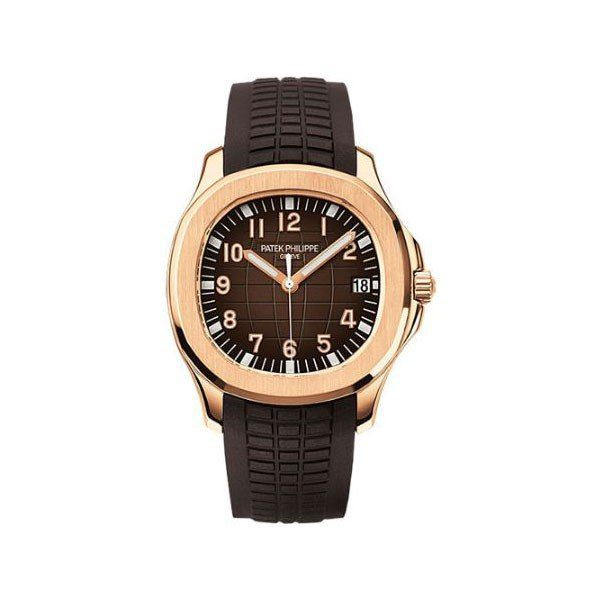 PATEK PHILIPPE AQUANAUT 40MM 18KT ROSE GOLD MEN'S WATCH