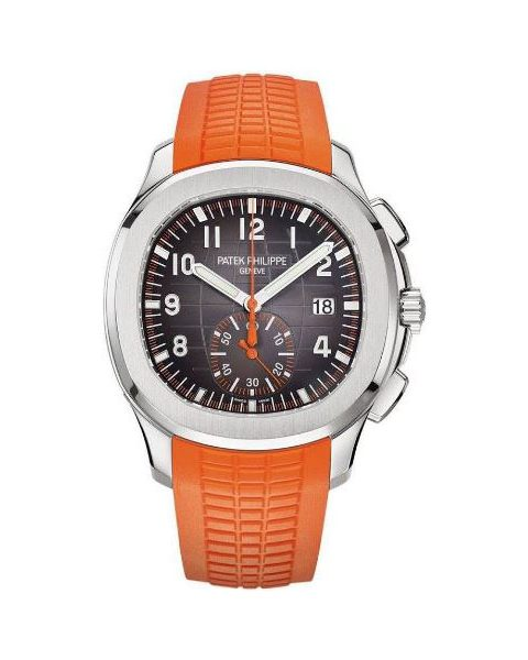 Patek Philippe Pre-Owned Aquanaut Chronograph Stainless Steel Men's Watch