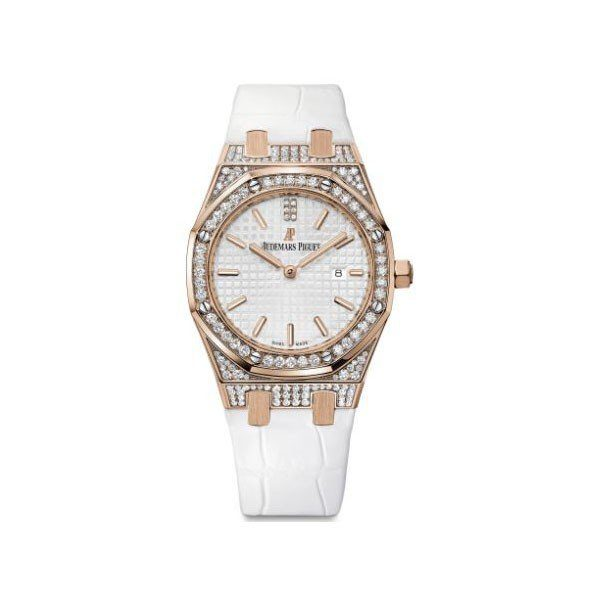 AUDEMARS PIGUET ROYAL OAK 33MM 18KT ROSE GOLD LADIES WATCH