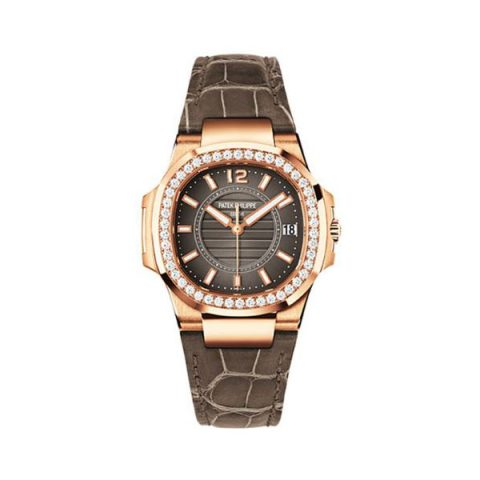 PATEK PHILIPPE NAUTILUS 7010R-010 ROSE GOLD LADIES WATCH