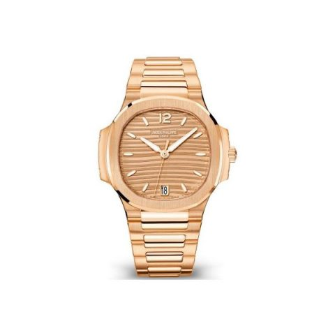 PATEK PHILIPPE NAUTILUS 7118/1R-010 ROSE GOLD LADIES WATCH