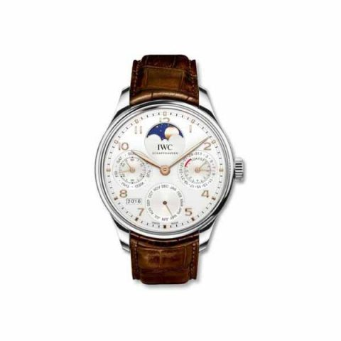 IWC PORTUGUESE PERPETUAL CALENDAR PERPETUAL MOONPHASE 44.2MM STAINLESS STEEL MEN'S WATCH