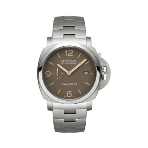 PANERAI LUMINOR MARINA 1950 SAND DIAL 44MM TITANIUM LIMITED EDITION OF 100 PIECES MEN'S WATCH