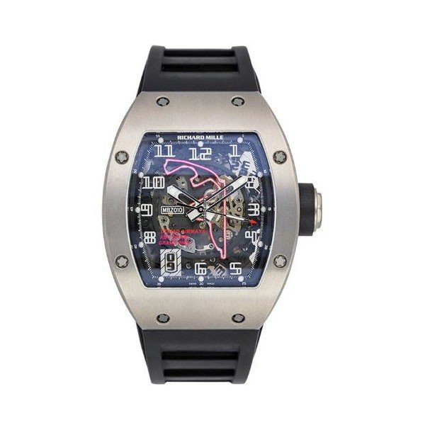 RICHARD MILLE ABU DHABI GRAND PRIX LIMITED EDITION 39MM TITANIUM MEN'S WATCH