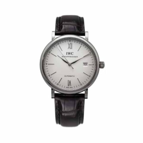 IWC PORTOFINO 40MM STAINLESS STEEL MEN'S WATCH