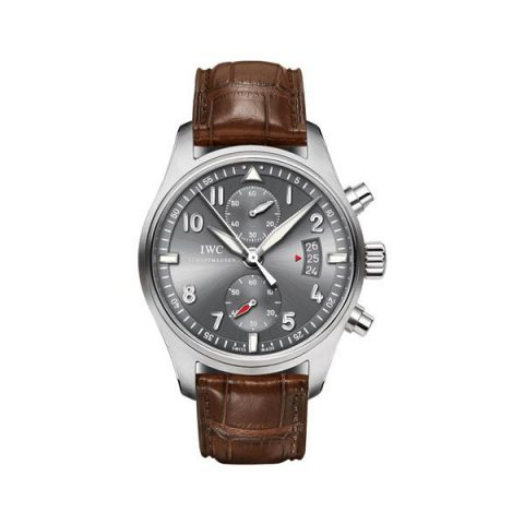 IWC SPITFIRE CHRONOGRAPH SLATE GREY DIAL 43MM STAINLESS STEEL MEN'S WATCH