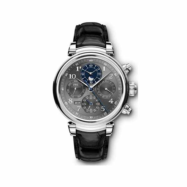 IWC DA VINCI PERPETUAL CALENDAR CHRONOGRAPH 43MM STAINLESS STEEL MEN'S WATCH