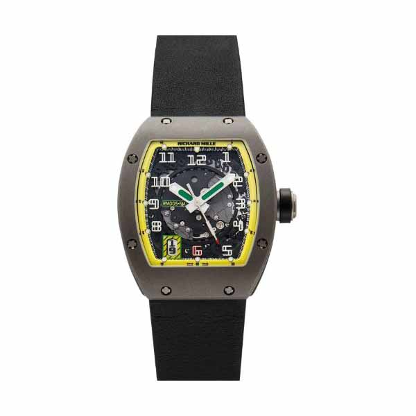 RICHARD MILLE 38MM X 49.8MM TITANIUM LIMITED EDITION MEN'S WATCH